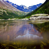 Mills Lake, Rocky Mountain National Park, Colorado