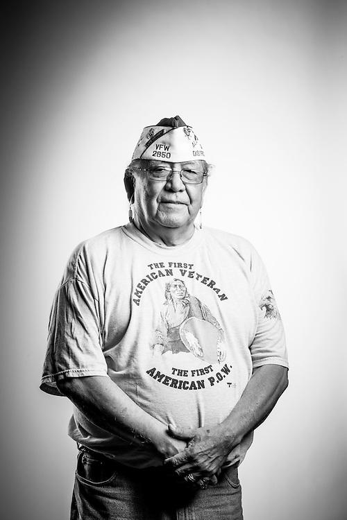 George H. Dennis<br /> Army<br /> E-4<br /> Artillery<br /> 1966<br /> Vietnam<br /> <br /> Veterans Portrait Project<br /> St. Louis, MO