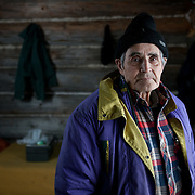 Kaska Elder Fred Hasselburg built his log cabin home with his bare hands. Thanks to government red tape and oudated land claims issues, he faces the prospect of losing the land he grew up on and that has supported his family for generations.