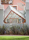 Gehry House, by Frank Gehry, at Santa Monica, California