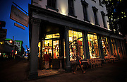 Visitors shop at The Paris Market & Brocante on Brought Street in historic downtown Savannah, Ga. (Photo by Stephen Morton)