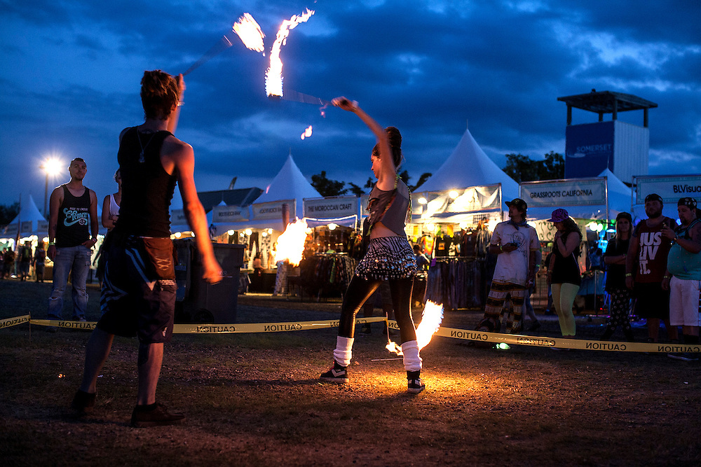 Summer Set Music and Camping Festival in Somerset, Wisconsin, August 15, 2014.