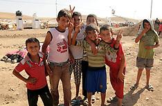 AUG 25 2013 Refugee Camp in Iraq