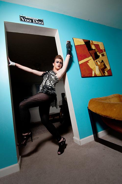 STL Fashion label Trashbiscuit and their Summer 2010 designs. Model: Blair Dinnuci