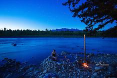 North Flathead River Van Camping