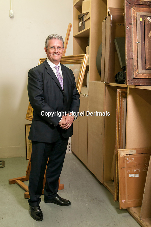 David Gregory, Christie's operations director, King street, London.