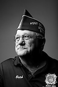Butch Fredrick<br /> Air Force<br /> Sgt. (E-5)<br /> Radio Intercept<br /> 1966-1970<br /> Vietnam<br /> <br /> Veterans Portrait Project<br /> Louisville, KY<br /> VFW Convention <br /> (Photos by Stacy L. Pearsall)