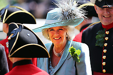 JUNE 06 2013 The Duchess of Cornwall attends the annual Founders Day Parade