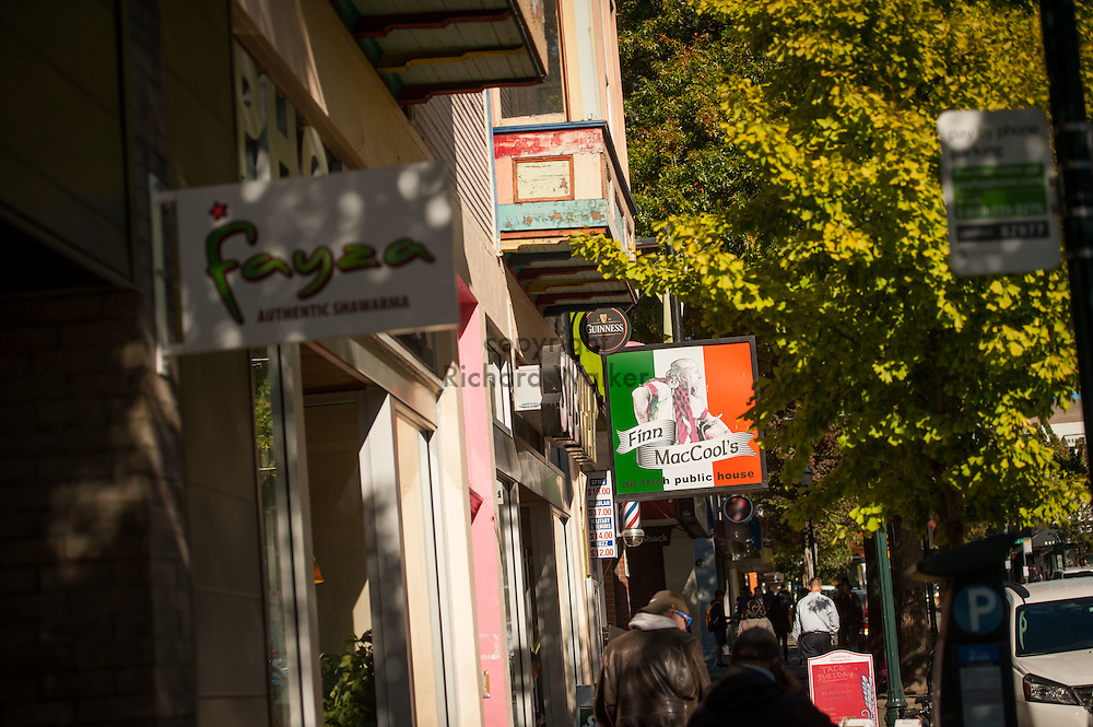 2016 October 11 - Store signage in the University District, Seattle, WA, USA. By Richard Walker