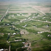 Azerbaijan, 25 July 2012<br /> Aerial view of Azerbaijan's countryside.<br /> Photo: Ezequiel Scagnetti