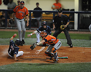 Auburn vs. Mississippi during a college baseball in Oxford, Miss. on Friday, May 21, 2010. (AP Photo/Oxford Eagle, Bruce Newman)
