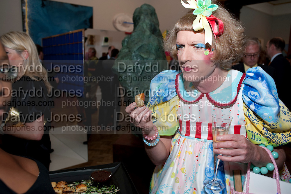 GRAYSON PERRY, Royal Academy Summer Exhibition 2009 preview party. royal academy of arts. Piccadilly. London. 3 June 2009.