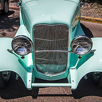 Images of cars from the 2007 Santa Fe Car Show.