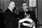 1964 - British Ambassador presents Credentials at Aras an Uachtarain