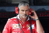 Maurizio Arrivabene team principal della Ferrari