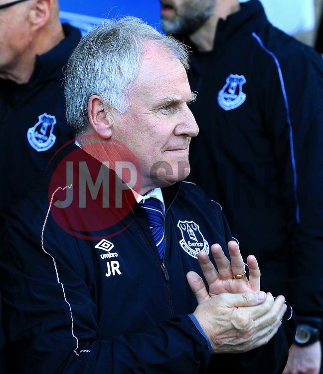 Everton Interim Manager Joe Royle  - Mandatory byline: Matt McNulty/JMP - 15/05/2016 - FOOTBALL - Goodison Park - Liverpool, England - Everton v Norwich City - Barclays Premier League
