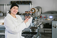 Aldi Specially Selected Belgian chocolate brownies POS photography on location at Loch Ness, Scotland