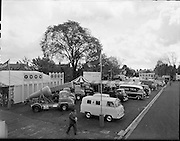 Henry Ford's car stand at the RDS..02.05.1961