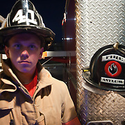 Portrait of one of the worlds bravest Camden-Wyoming Fire fighter Chris Cheese Wednesday, July 6, 2011, in Camden-Wyoming Delaware.