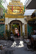 street scenes and markets, Hanoi, Vietnam August, 2011