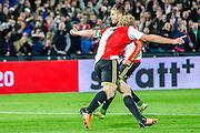 ROTTERDAM - Feyenoord - AZ , Voetbal , Eredivisie, Seizoen 2015/2016 , Stadion de Kuip , 25-10-2015 ,