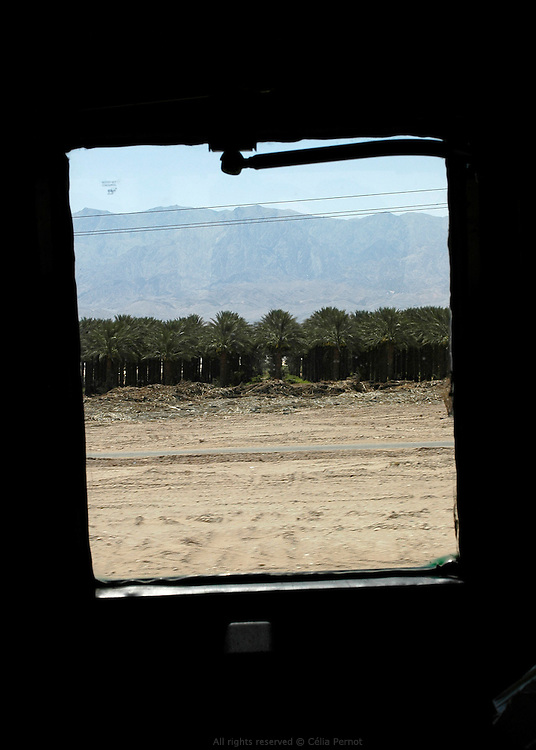 on the bus between Jerusalem and  Eilat.