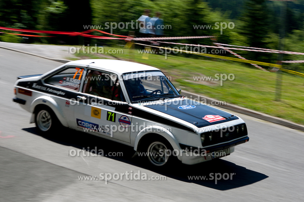 Gerhard Openauer and Wolfgang Scheitz of AUT during 35th Rally Saturnus, on May 12, 2012, in Trbovlje, Slovenia. (Photo by Urban Urbanc / Sportida)