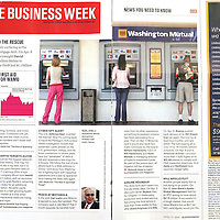 Apr 21, 2008 - Los Angeles, California, USA - Business Week Magazine chose this stock photo of mine of people using the ATM machine in Los Angeles to run with a story entitled: 'Private Equity Rides To The rescue,' in their April 21st, 2008 issue..(Credit Image: © Marianna Day Massey/ZUMA Press)
