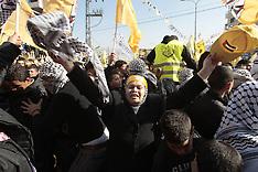 JAN 3 2013 Palestinian Fatah supporters