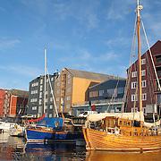Trondheim - Kanalen, elva, fjorden