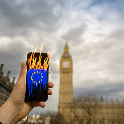 """The European Union is """"burning"""" after the UK decided to leave the European Union on June 23rd, 2016 via a referendum"""