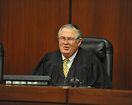 Judge Glen Davidson attends a Naturalization Ceremony at the U.S. District Court in Oxford, Miss., on Thursday, December 20, 2012.