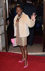 Baroness Floella Benjamin attends Memphis Press Night at The Shaftesbury Theatre, Shaftesbury Avenue, London on Thursday 23rd October 2014