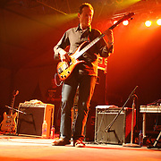 The 2007 Bonnaroo SuperJam featuring John Paul Jones, Ben Harper, and ?uestlove performs during the second day of the 2007 Bonnaroo Music &amp; Arts Festival on June 15, 2007 in Manchester, Tennessee. The four-day music festival features a variety of musical acts, arts and comedians.<br /> Photo by Bryan Rinnert.