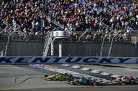 Ed Carpenter, Kentucky Indy 300, Kentucky Speedway, Sparta, KY USA 10/2/2011
