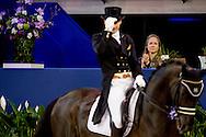 AMSTERDAM - Prinses Margarita bij de FEI World Cup dressuurwedstijd tijdens Jumping Amsterdam in de RAI. ANP ROBIN UTRECHT