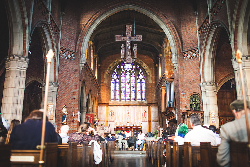 Gather for Gaza taking place at St Barnabas Church in Walthamstow A church in Walthamstow is hosting a fundraising event to help provide medical aid to Palestinians in the Gaza Strip. Father Stephen Saxby of Saint Barnabas Church in St Barnabas Road, Walthamstow, has organised the 'Gather for Gaza' event in conjunction with Palestinian Aser El Saqqa. (Photos/Ivan Gonzalez)