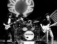 Ambrosia 1980 David Pack, Burleigh Drummond and Joe Puerta on Midnight Special.© Chris Walter.