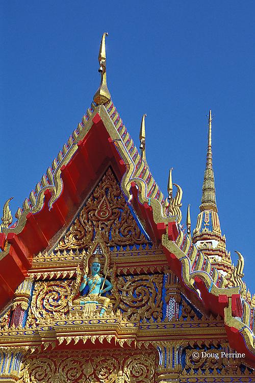 Wat Chalong, a Buddhist temple, Phuket, Thailand