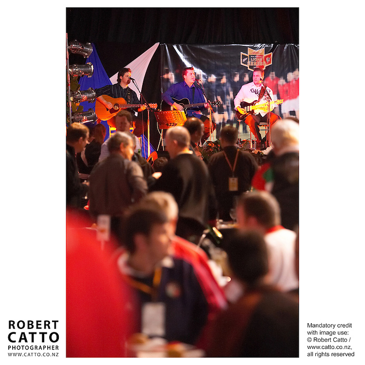 British &amp; Irish Lions v. Auckland Blues Match at Eden Park, Auckland, New Zealand.<br />