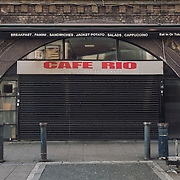 Cafe Rio. <br />