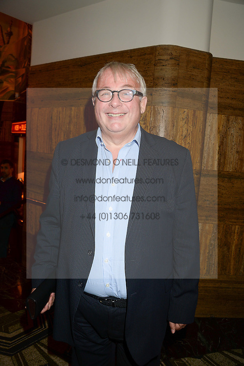 CHRISTOPHER BIGGINS at a first night of Celia Imrie's show Laughing Matters held at The Crazy Coqs, Brasserie Zedel, 20 Sherwood Street, Piccadilly, London on 17th September 2013.