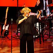 Washington, D.C. - April 23, 2010:  Legendary gospel singer Mavis Staples entertains the crowd at the Terrace Theater in the Kennedy Center. (Photo by Kyle Gustafson)