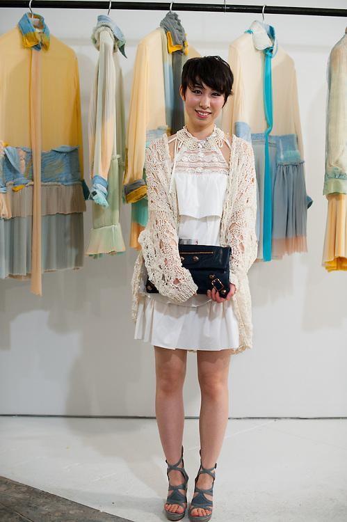 White Lace Dress, Parsons MFA Exhibit