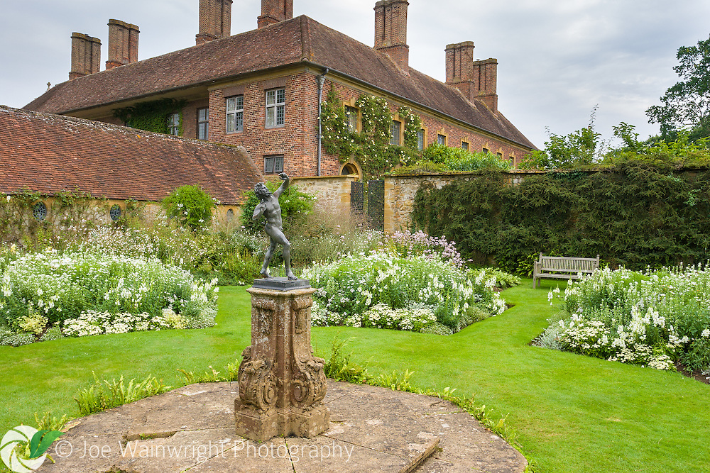 The White Garden at Barrington Court, Somerset, was inspired by the work of Gertrude Jekyll.