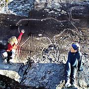 Bølareinen - A 6000 years old rock art reindeer