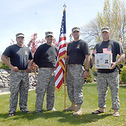 Recruiters March for Paralyzed Vets