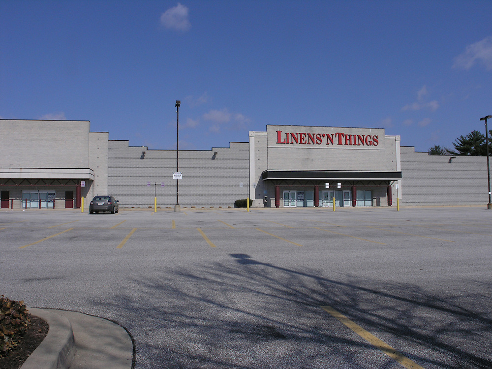The Towson Mall which was closed in October, 2008 had  two stores operating, Comp USA (no sign visible) and Liens`N Things.