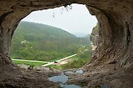 View from rocky sanctuary Badzhaliyata