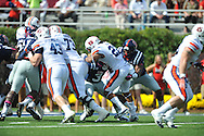Auburn running back Tre Mason (21) scores at Vaught-Hemingway Stadium in Oxford, Miss. on Saturday, October 13, 2012.